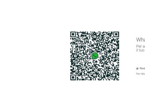 Whatsapp Web e le notifiche push dell'app sul pc